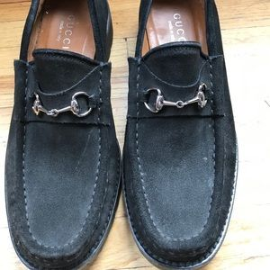 Black Gucci Loafers
